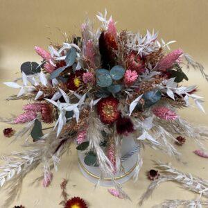 flowerbox droogbloemen